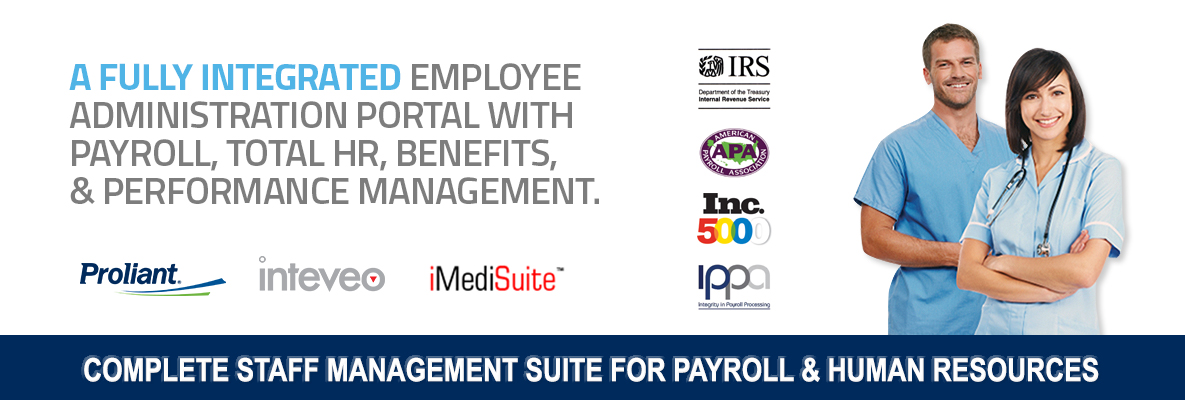 complete staff management suite for payroll and human resources